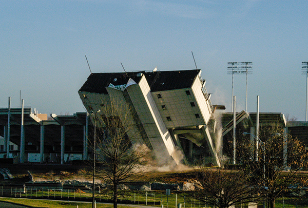 Deacon Tower destruction